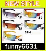 225f0d087f11 MOQ 10 good Cycling Sports Sunglasses Outdoor Sun glasses Brand Black NICE  FACE Take the sunglasses Dazzle colour glasses FREE SHIPPING 5944