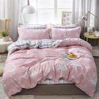 Wholesale swan bedding set king for sale - Group buy Swan Bedding Set For Girls Romantic Fashionsble Sweet Pink Duvet Cover King Queen Single Full Twin Soft Bed Cover with Pillowcase