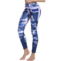 зимние теплые леггинсы оптовых-Fashion Womens Letter Print Leggings Gym Fitness Athletic Pants leggings winter pants capris warm