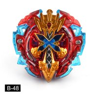 Wholesale movie spinning tops for sale - Group buy Tops Burst Toys Boys Launchers Beyblade Metal Toupie Avec Lanceur God Spinning Top Bey Blade Kids Blades Burst Toy A61903