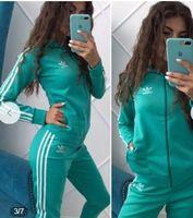 kadın moda eşofmanı takım setleri toptan satış-Kadın Eşofman Moda Bayan Tasarımcı Ceket Spor Marka Bayan 2 Parça Setleri Spor Kazak Rahat Fermuar Asya Boyutu S-XL