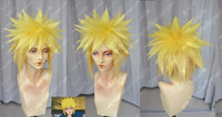 Wholesale naruto cosplay wigs resale online - lt lt Naruto Namikaze Minato need styled Anime Cosplay Costume Wig CAP Track No