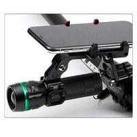 Wholesale sport camera holders for sale - Group buy Hot Alloy Anodized Bicycle Camera Holder Headlight Torch Bracket Stem Install Mobile Phone Mount Sports mm