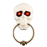 Wholesale ghost toys for sale - Group buy Halloween Horror Doorbell Ghost Festival Skeleton Toys Haunted House Party Supplies Shining Skeleton Head Prop