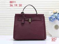ingrosso sacchetto di cuoio grande di marca del modello-Harmers marca designer borse litchi modello pu leather designer borse grande capienza della borsa del progettista delle donne di capacità