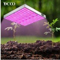 45w führte pflanze wachsen licht groihandel-DCOO Phyto Lampe 45W LED Pflanzen wachsen Lichter 265V Vollspektrum für Zimmergewächshauspflanzen Hydroponics Flower Panel Grow Lights