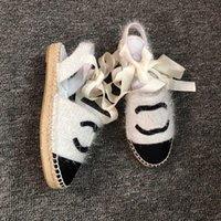 cuerda del dedo del pie al por mayor-2019 mujeres Camillia sandalias cuerda tiras de cuero 35-40 Moda cuero sandalias de lujo diapositivas planas de cuero zapatos de playa punta abierta con caja