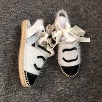 Wholesale sandals for sale - Group buy 2019 women camillia sandals rope strappy leather Fashion leather luxury sandals flat slides heel leather beach shoes open toe with box