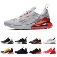 erkekler için yumuşak koşu ayakkabıları toptan satış-nike Air Max 270 airmax 270 shoes 2019 Kurt Gri Erkekler kadınlar Üçlü Siyah beyaz Kaplan Koşu Ayakkabıları Atletik Açık Spor Erkek Eğitmenler Zapatos Sneakers 36-45