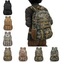 Wholesale tactical art for sale - Group buy 50L Tactical Military Backpack Outdoor Camo Mountaineering Bag Trekking Sport Travel Rucksack Unisex Men Hunting Camping Bags Styles M39F