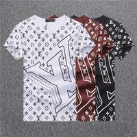 modisches designhemd großhandel-Entwurf der neuen Ankunft 3D im Jahre 2019 die hochwertigen modernen Baumwollt-shirt Männer T-Shirt der Männer Mensent-shirts BB6637