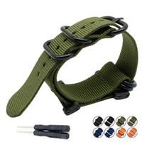 ingrosso cinghie in nylon di zulu-Per Suunto Core For Note G10 Military Zulu Heavy Duty 5 cinturino in nylon con cinturino cinturino cinturino cinturino adattatori Kit e attrezzo T190620