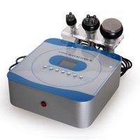 máquina de pérdida de peso corporal al por mayor-3 en 1 cavitación ultrasónica del RF que adelgaza la máquina para el uso del salón de belleza con el cuerpo y la cara RF de la cavitación 40KHZ para la piel que aprieta pérdida de peso
