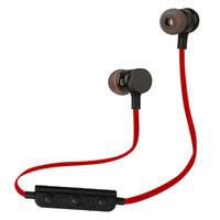 kopfhörer gebaut großhandel-M90 magnetischer Bluetooth-Kopfhörer mit schweißfestem Ohrhörer mit Geräuschunterdrückung und Metallgehäuse. Integriertes Mikrofon. M90 magnetisches Headset