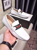 zapatos de vestir puntitos de goma al por mayor-20ss zapatos de hombre de lujo zapatos de vestir italianos zapatos de vestir para hombres Picos de cuero de alta superior suela de goma de densidad dual negro tamaño 38-45