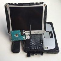 bmw icom a2 laptop großhandel-Für P / anasonic CF-19 Militärischer Toughbook Laptop CF19 Diagnose Laptop kann für b-mw icom a2 und mb Stern c4 / c5 arbeiten Freier DHL