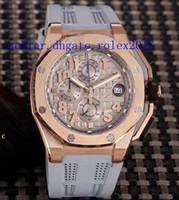saphirglas quarzuhr groihandel-Herren Luxus Superlative Bergsteigen Rennen VK Quarz Chronograph LeBron James Limited 44mm Saphirglas Herrenuhren