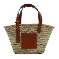 pequenos sacos de praia tecidos venda por atacado-Sacos de Borla Do Vintage das mulheres Grande Médio Pequeno Tamanho Hand-woven Bag Bolsa Para Senhoras de Praia Redonda de Palha Mulheres Sacos