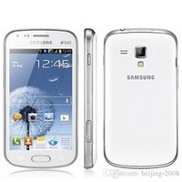 celulares android 5mp camera venda por atacado-Recuperado Original Samsung Galaxy S7562 S Duos Cell Phone Android 4.0