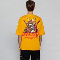 Wholesale cock cotton for sale – custom Creative Warrior Cock Printed Summer T Shirts Mens Hip Hop Casual Streetwear Short Sleeve Tops Tees Fashion Tshirt