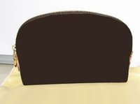 Wholesale Brown Flower MO COSMETIC POUCH M47515 or COTTON BAG Customer Designate Product