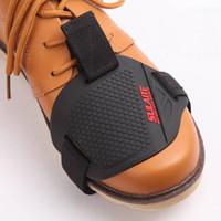 motorradverschiebung groihandel-Motorrad-Schuhe Schutz Schalthebel Schutz Schalthebel Abdeckung Guards