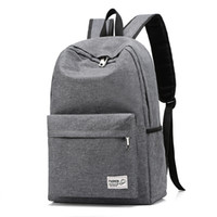 Wholesale large backpack korean for sale - Group buy 2019 Unisex Oxford backpack Korean College Men s Bagpack Large Capacity Laptop Backpack High Quality Feminina Black School Bag