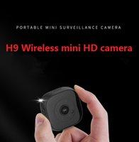 kleine mp großhandel-H9 kleine HD Matt Nachtsicht Überwachungskamera Handy Remote Smart Kamera WIFI