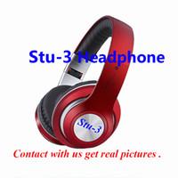 bluetooth kulaklıklar oyun toptan satış-Kökeni yüksek kaliteli Stu-3 Kablosuz Kulaklıklar spor kulaklık stereo ses bandı Android ISO ücretsiz nakliye için bluetooth oyun k ...