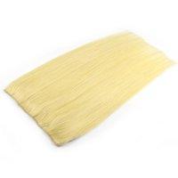 o cabelo tece em linha venda por atacado-milier Compras online sites micro anel loop weave 100% extensão do cabelo humano de tecelagem para as mulheres brancas