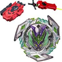 beyblade 4d l drago yok etmek toptan satış-Bey Blade 1 adet Beyblade Burst Bayblade Metal Fusion 4D L-DRAGO DESTROY F: S + Launcher Çocuk Oyuncakları Çocuk Noel Hediyesi B118