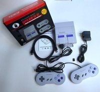 Wholesale hot games resale online - HDMI Out TV Game Console Video Handheld Games for SFC NES games consoles hot sale Children Family Gaming Machineree DHL Shipping