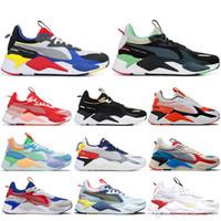 calcetines de baloncesto al por mayor-PUMA Con calcetines Nuevo RS-X Hombres Mujeres Zapatos para correr Zapatillas de baloncesto para hombre Zapatillas de deporte de diseño casual Calzado para trotar Calzado deportivo