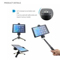 Wholesale universal tablet screens online – Portable Universal Mount Holder Stand For Tablet Clamp Adapter For Tablet PC Pad Inches To Inches Screen Tablets