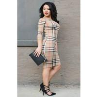 e781be6328 faldas de tres cuartos al por mayor-Vestidos de diseñador 2019 Ropa de  mujer de