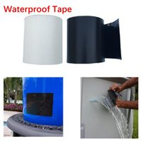 Wholesale quick hose online - Super Strong Flex Leakage Repair Waterproof Tape for Garden hose pipe water tap Bonding Rescue quick repairing Quickly stop leak Seal Tapes