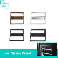 Wholesale car nissan patrol resale online - Car Headlamps Headlights Switch Decoration Ring Covers Fit For Nissan Patrol Inner Interior Accessories Styling