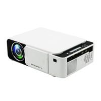 volle 3d spiele großhandel-Projektor Mini LED LCD Projektoren T5 3D Proyector Full HD 1080P Media Player Heimkino Unterstützt HDMI VGA USB Xbox Spiel TV Beamer
