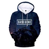 ingrosso vendita di hoodie uomini-Aikooki Hot Sale Days Gone 3D HoodiesSweatshirts Uomo / donna autunno Moda Harajuku Felpe con cappuccio 3D Print Days Gone Men's Hoodie TOP