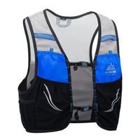 ingrosso zaino escursionistico ultraleggero-Aonijie 2.5L Zaino da corsa Gilet in nylon Borsa da ciclismo Marathon Portable Ultralight Escursionismo leggero
