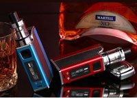 Wholesale hookah mod pen for sale - Group buy New w liquid electronic cigarette led vaporizer ml mah w e cigarettes vape pen box mod kit hookah vape