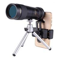 óculos monoculares venda por atacado-10-30 Vezes Zoom Monocular HD Telescópio de Alta Potência Concerto Câmera Do Telefone Móvel Mini Adulto óculos Camping Caminhadas Telescópio