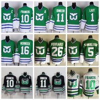 Wholesale kevin dineen jersey for sale - Group buy Mens Hartford Whalers Hockey Jerseys Ron Francis Ray Ferraro Ulf Samuelsson Pat Verbeek Kevin Dineen Mike Liut Jersey