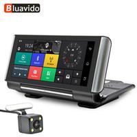 Wholesale car remote dvr for sale - Group buy Bluavido Inch G Android Car Dash camera GPS Navigation ADAS FHD P AUTO Video Recorder DVR WIFI BT Remote Monitor G sensor