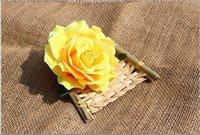 gefälschte blume stieg köpfe groihandel-Umweltfreundlich Rose Köpfe Künstliche Blumen Rose Plastikblumen-Fälschungs-Blüte Qualitäts-Silk Blumen-freies Verschiffen