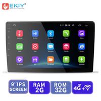 telemóvel hd tv grátis venda por atacado-EKIY 9 / 10.1 '' IPS Universal Android 2 Din GPS Navigation Autoradio Car Multimedia Player BT Wifi OBD2 Stereo dvd carro Radio Video Player
