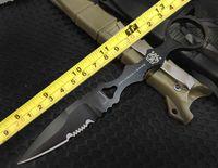 cuchillos voladores al por mayor-Acabado fino BM 176 178 D2 hoja bm178 bm176 cuchillo de vuelo táctico Cuchillo de supervivencia en el desierto con funda K 1pc