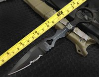 Wholesale Fine finish BM D2 blade bm178 bm176 tactical flying knife Wilderness survival knife with K sheath pc