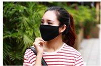 cavaleiros negros venda por atacado-Anti-Poeira Anti-Neblina Neblina Máscara De Boca De Algodão Máscara Facial Unisex Homem Mulher Ciclismo Vestindo Cavaleiro Preto Quente Moda Inverno Alta qualidade 20 * 13 CM