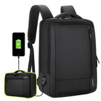 laptop bag mulheres 17 polegadas venda por atacado-Unissex mochilas de viagens para Homens Mulheres Casual Daypacks Anti Theft Business Travel Bag Big 17 Inch Laptop Computer Backpack Bags